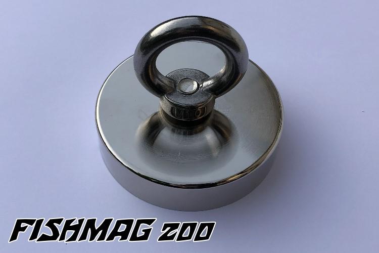 Bergemagnet FISHMAG 200