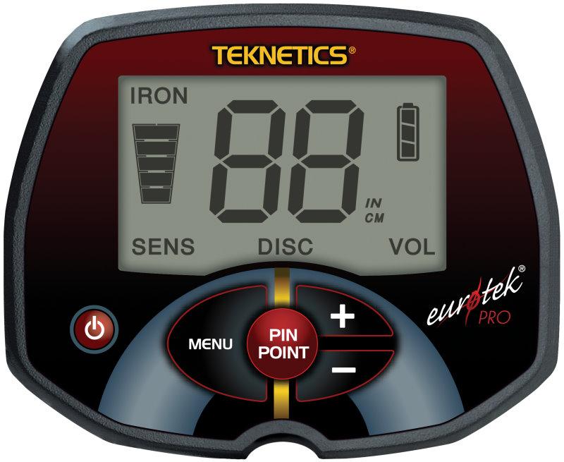 Metalldetektor Teknetics EuroTek PRO V1.2 (LTE)
